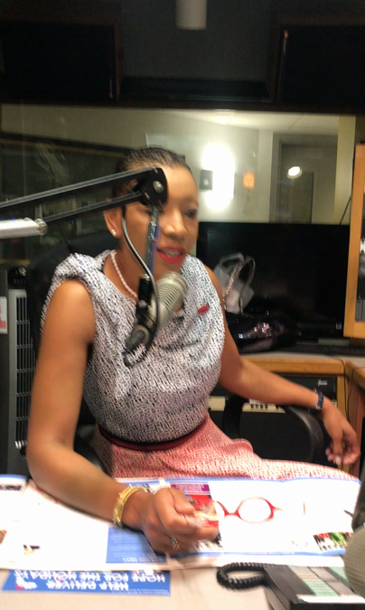 Dorthe Tate of Freedom From Fistula Interviewed on Radio 103.9 New York