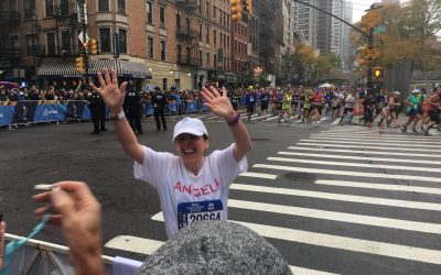 FFF has a runner in the NYC Marathon on November 4th!