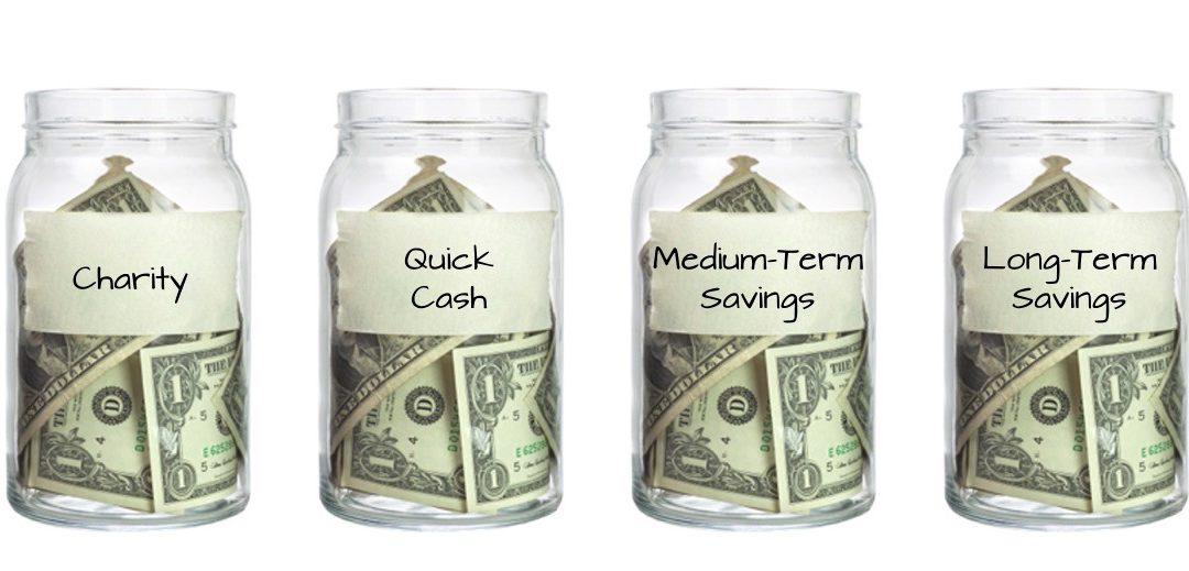 Allowance Time! Follow The Four-Jar Budget System